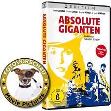 DVD: Absolute Giganten - deutscher Kultfilm mit Tischfußball/Kicker-Zocker Szene