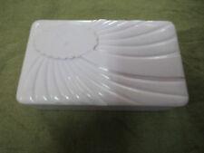 #CC9.  EARLY PLASTIC HOADLEYS CHOCOLATE BOX, LILAC COLOUR