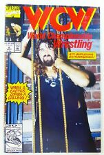 WCW: WORLD CHAMPIONSHIP WRESTLING (1992) #6 Low Print Run MANKIND FN Ships FREE!