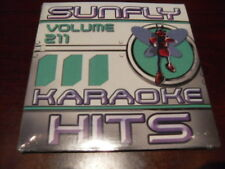 SUNFLY HITS KARAOKE  DISC SF211 VOLUME 211 CD+G SEALED 16 TRACKS