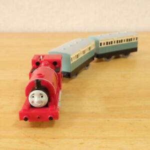 Thomas & Friends Skarloey Railway TOMY Plarail Motor OK Runs on Rail one coach