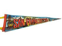 "San Francisco CA California Vintage Souvenir 25"" Felt Pennant"