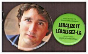 Canada political PBs: Justin Trudeau; Legalize it Young Liberals of Canada