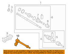 KIA OEM 14-16 Forte Koup Drive Axles-Front-Intermed Shaft 49560A7400