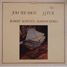 BACH, FUX: Kohnen Harpsichord ACCENT Audiophile GERMANY Vinyl LP NM