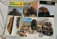 Vintage Railroad Magazines Catalogs - Lot of 6 Railway Railroad Locomotive Model