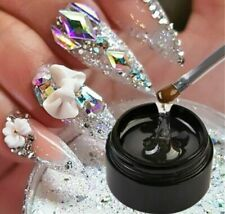 Strong Nail Art Rhinestone Glue GEL Adhesive Resin Gem Jewelry Polish Decor 8ml*
