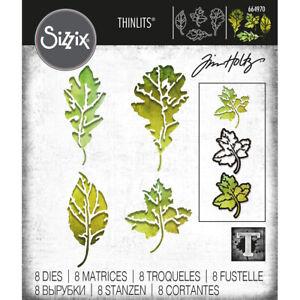 Sizzix Thinlits -  Leaf Print Die Set by Tim Holtz