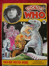 DR DOCTOR WHO POSTER MAGAZINE, featuring Tom Baker