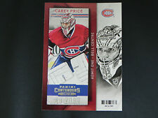 2013-14 13/14 Panini Contenders #63 Carey Price Montreal Canadiens