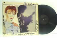 DAVID BOWIE scary monsters LP EX/EX-, BOW LP2, vinyl, album, with lyric insert,