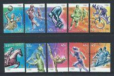 AUSTRALIA 2000 OLYMPIC SPORTS SET OF 10 FINE USED