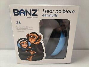Banz Hear No Blare earmuffs 0-2 Years old Sky Blue EM009 Carewear for kids