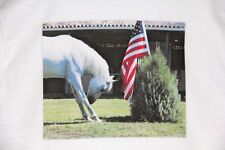 Equine Pride Patriotic Horse T-shirt Womens Medium