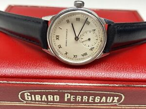 vintage girard-perregaux sea hawk swiss made mechanical wristwatch with box🇨🇭