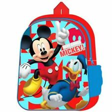 Disney Mickey Mouse Rucksack Backpack Back to School Bag NEW
