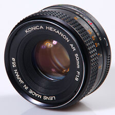 OBJECTIF HEXANON 1,8/50mm KONICA AR !!! MADE IN JAPAN