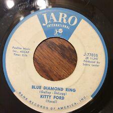 KITTY FORD I Love You Conrad (FROM BYE BYE BIRDIE) /Blue Diamond Ring Popcorn