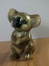"Vintage Ceramic Koala Bear Figurine Ornament - 6"" Tall"
