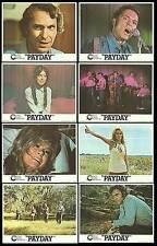 PAYDAY original 1973 lobby card set RIP TORN/AHNA CAPRI 11x14 movie posters