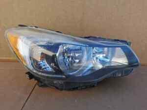 2012 2013 2014 2015 Subaru Impreza Halogen Headlight OEM Right Passenger Side