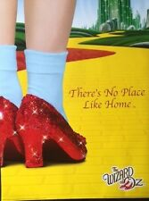 THE WIZARD OF OZ Movie Poster - Red Slippers Full Size Print ~ Yellow Brick Road