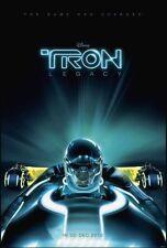 TRON LEGACY - 2010 -orig D/S Advance Movie Poster-27x40- OLIVIA WILDE, G.HEDLUND