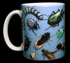 Bug Wrap 11 OZ. Ceramic Coffee Mug or Tea Cup Insects Beetles