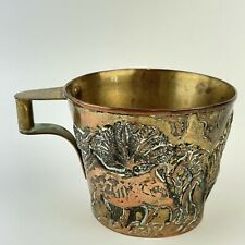 More details for vintage greek solid 900 silver gilt minoan type lalaounis h.43 height 6.8cm