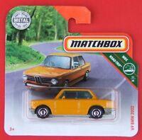 MATCHBOX 2019   ´69 BMW 2002  7/100   NEU&OVP