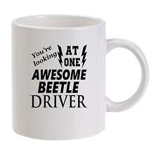 Awesome Beetle Driver Mug New Funny Birthday Gift Dad VW