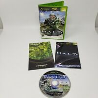 Halo Combat Evolved (Microsoft Xbox,  2001) Complete CIB Tested View Photos