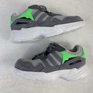 Adidas Yung-96 El Toddler Sneakers Casual Grey Boys Size 9k DB2822 🔥