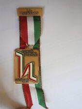La Dreikampf Swiss Switzerland Medal Medaille Turn Gymnastics Hochdorf 1984 Zsk