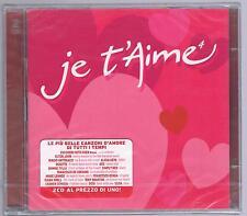 JE T'AIME 4 - 2 ZUCCHERO ELTON JOHN 883 GABRIELLE MARCELLA BELLA CD SIGILLATO!!!