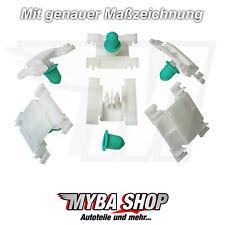 20x Zierleisten Klammer Clip mit Tülle für VW Golf 3 Jetta Vento | 1H0853585