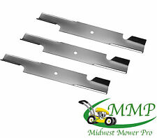 SET OF 3 Blades For 61-in Deck Replaces 481712  10930