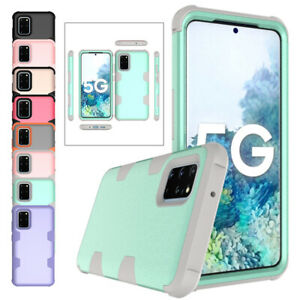 Hybrid Silicone Phone Case For Samsung Galaxy S20 Ultra S10 S9 S8 Plus Note 8 9