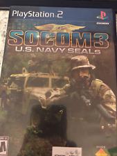 PS2 Socom 3 U.S. Navy SEALs
