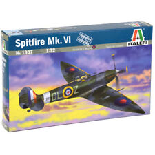 ITALERI Spitfire Mk.VI RAF 1307 1:72 Aircraft Model Kit