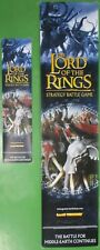 Lord of The Rings Strategy Board Window Banner Lot Middle Earth Games Workshop