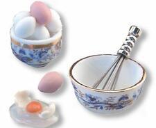 Reutter Porzellan Eischnee Ei Eier / Beaten Eggs Puppenstube 1:12 Art 1.328/8