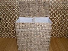 Arcón para ropa Cesta de lavado Taburete baño Box Jacinto agua 940F