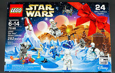 New In Box Lego Star Wars 2016 Advent Calendar #75146 24 Gifts Snow Chewbacca