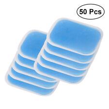 50 PCS/ Set Replacement Gel Pads Abdominal Gel Stickers For Abs Toner Stimulator