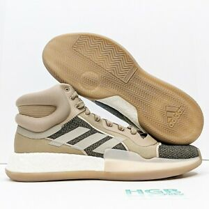 Adidas Marquee Boost Men's Sneaker Boot Training Running Brown White A-G27734