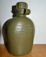 Vintage Plastic MILITARY CANTEEN WATER BOTTLE 1976 R&D Army Marines