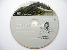 AUDI A3 A4 A6 TT R8 RNS-E NAVIGATION DVD 2011/2012 Europe de l'Ouest