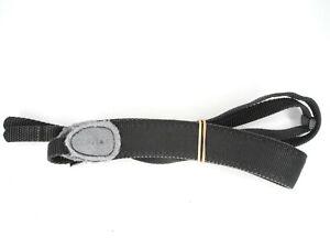 #2 Contax Genuine Black Camera Neck Strap (Rust On Metal Buckles)