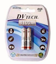 Pilas Recargables AAA LR03 DV TECH  Blister 2Pilas 700mAh 1100mAh 1.2V Calidad